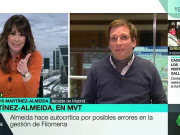 """Mamen Mendizábal a Almeida: """"Tiene dos caras, la de alcalde de buen rollo y la de portavoz del PP"""""""