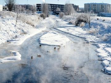 El frío polar cede aunque aún mantiene en alerta 12 comunidades, dos en rojo