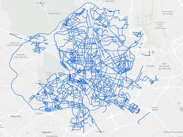 Consulta el mapa de las calles de Madrid que ya están limpias de nieve