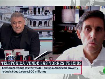 """El presidente de Telefónica asegura que la venta de las torres Telxius creará """"mucho valor en todo el entorno"""""""