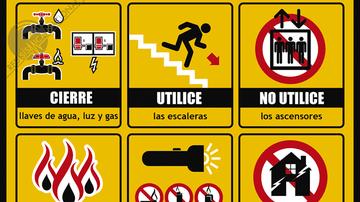 ¿Qué hacer después de un terremoto?
