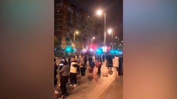 Multitud en las calles de Granada tras el terremoto