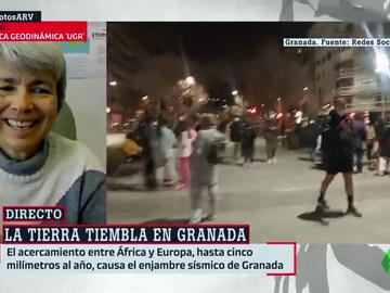 """El mensaje de tranquilidad de una experta en terremotos ante los seísmos en Granada: """"No vamos a tener una catástrofe"""""""
