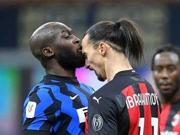 Enfrentamiento entre Zlatan Ibrahimovic y Romelu Lukaku