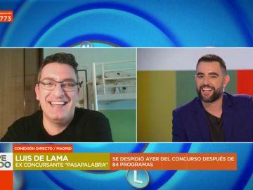 Luis del Ama desvela los entresijos de Pasapalabra