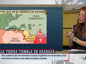 Isabel Zubiaurre, meteoróloga de laSexta, en Al Rojo Vivo