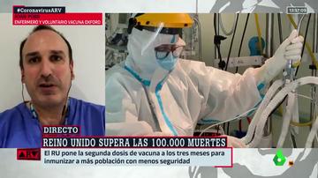 """La alerta sobre la cepa británica de Joan Pons, enfermero de UCI: """"El tsunami ya está en España, y está arrasando"""""""