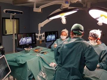 Quirófano del Hospital Rey Juan Carlos (Madrid)