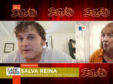 """Salva Reina desvela cómo recibió la notica de que trabajaría con Carmen Maura: """"Dije, 'un momentito, voy a hacer caca'"""""""