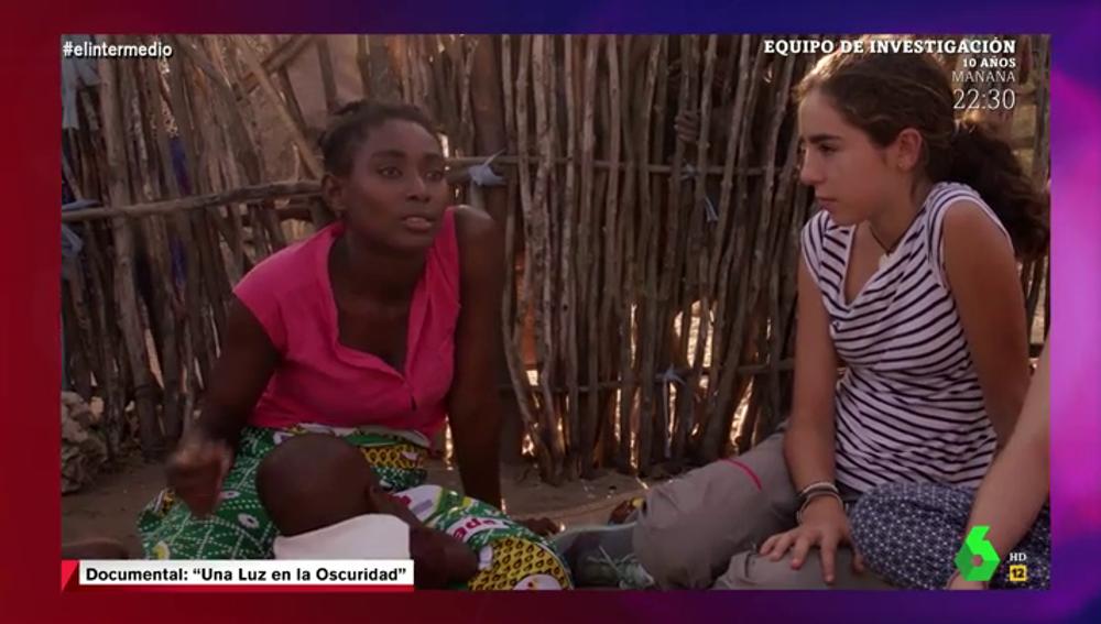 La dura confesión de una alumna mozambiqueña a Marta Rosell tras tener un hijo por la violación de un profesor