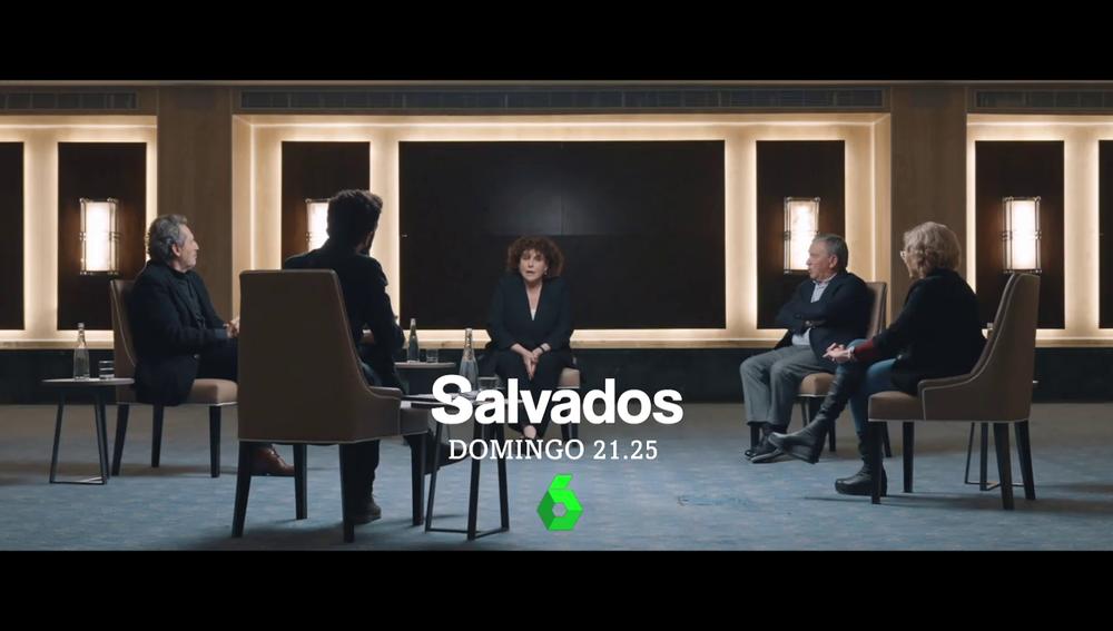Manuela Carmena y Charo López responde en Salvados