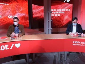 Pedro Sánchez se desplaza hasta Cataluña para arropar a Illa en el inicio de la campaña electoral