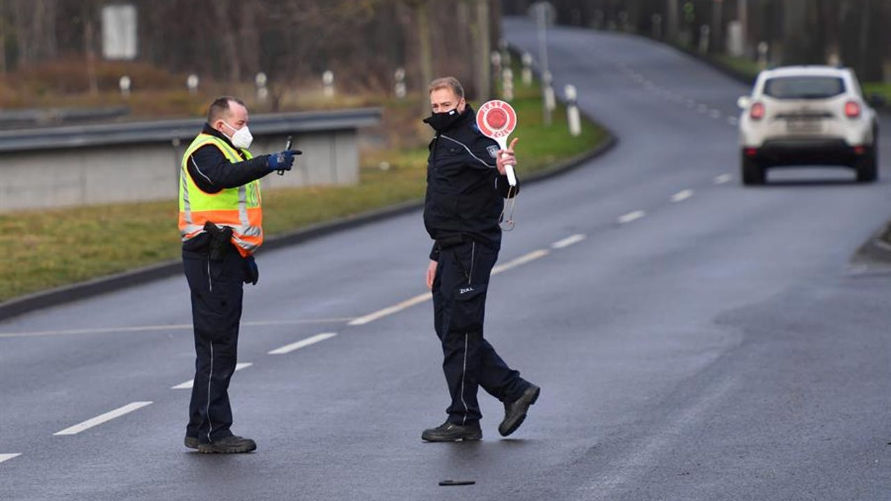 Controles fronterizos en Alemania de los países con incidencias disparadas.