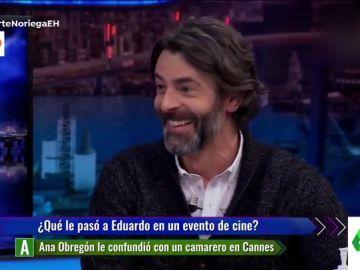 """La curiosa confusión de Ana Obregón con Eduardo Noriega en un hotel en Cannes: """"Me dijo que recogiese su habitación"""""""