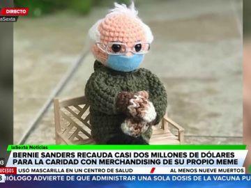 La imagen viral de Bernie Sanders recauda casi dos millones de dólares para fines benéficos