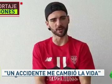 """Ander, el canterano del Athletic que se quedó tetrapléjico: """"La vida es muy bonita y hay que vivirla con pasión"""""""