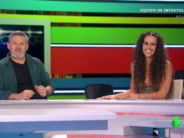 """""""Yo me despisto y ella me avisa"""": lo que no se ve de la relación entre Miki Nadal y Cristina Pedroche en Zapeando"""