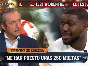 La cara desconocida de Drenthe: ¿Cuántas multas le han puesto?, ¿qué jugador le decepcionó en el Madrid?