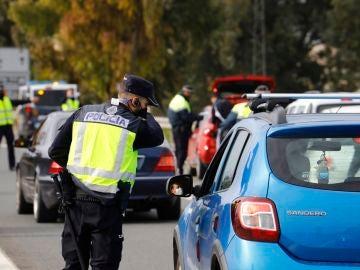 Controles policiales durante la pandemia.