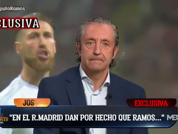 """Exclusiva de Pedrerol: """"El Real Madrid da por hecho que Sergio Ramos se va"""""""