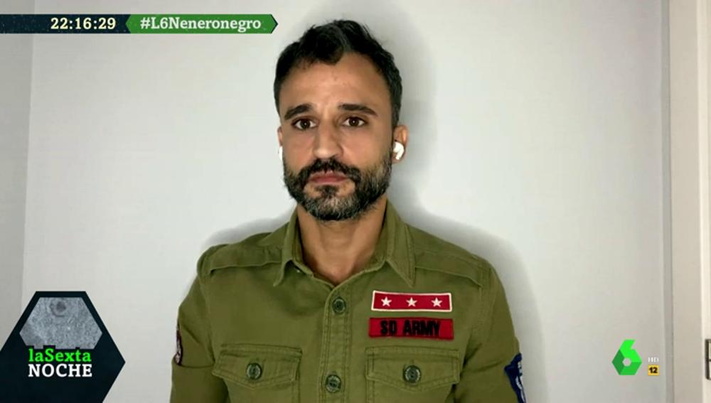 """Victor Aparicio (enfermero): """"Ser sanitario no es una ONG, es un trabajo"""""""