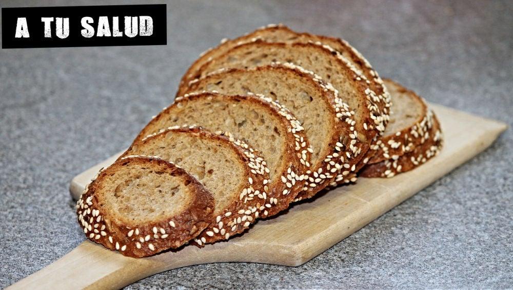Imagen de archivo de pan integral