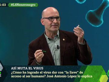 El virólogo José Antonio López te explica en cinco minutos cómo la COVID-19 dio con 'la llave' para entrar en nuestro organismo