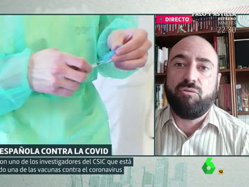 Juan García, investigador de la vacuna española contra el coronavirus