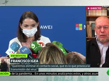 """La dura crítica Francisco Igea a la ministra Reyes Maroto: """"No hemos aprendido nada"""""""
