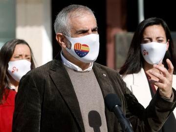 Carlos Carrizosa, candidato de Ciudadanos en las elecciones catalanas