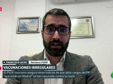 Francisco Lucas, portavoz del PSOE en Murcia: