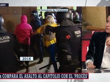 Inés Arrimadas, líder de Ciudadanos, en Al Rojo Vivo