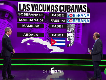 La vacuna Soberana 02, hecha en Cuba: