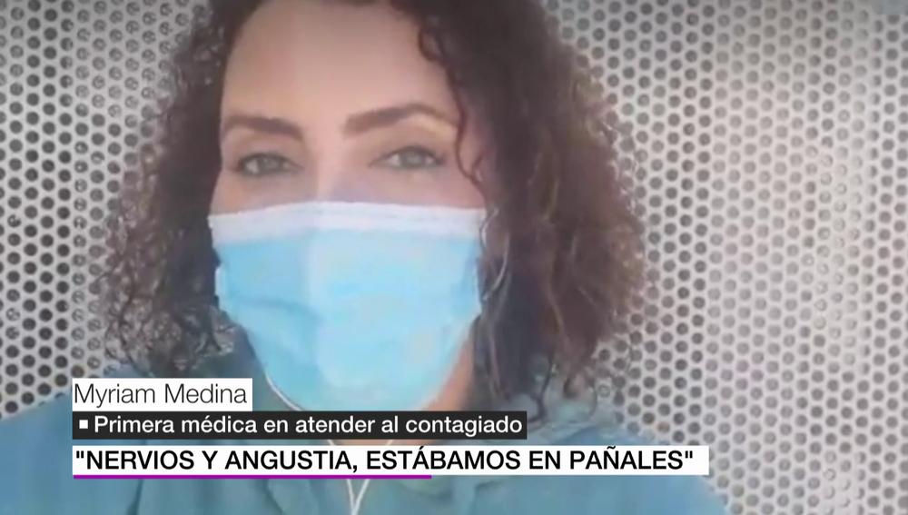 """Myriam, la médica que atendió al primer paciente COVID-19 en España: """"Estábamos en pañales, actuando con el sentido común"""""""