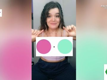 El efecto óptico que arrasa en TikTok: ¿tú también ves colores en esta imagen en blanco y negro?