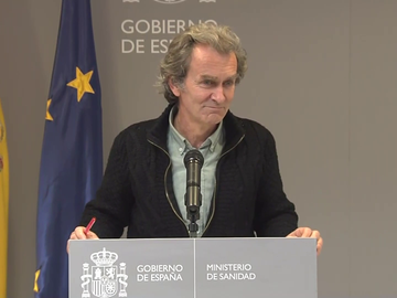 Fernando Simón, director del Centro de Coordinación de Alertas y Emergencias Sanitaras.