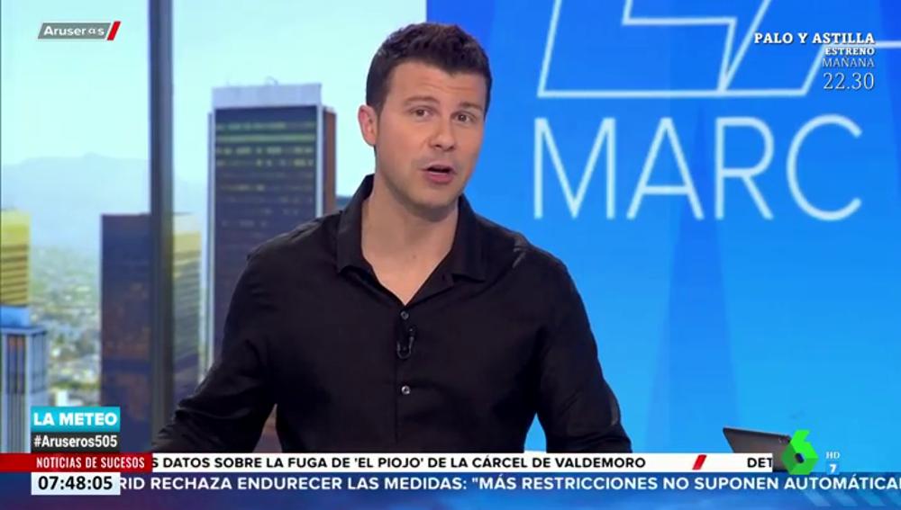 """El meteorólogo Marc Redondo advierte sobre las borrascas que llegan en febrero: """"Nos van a dejar alguna sorpresa"""""""