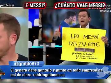 El mensaje de Tomás Roncero sobre el contrato de Messi
