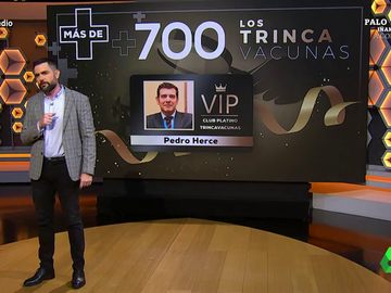"""El último caso de 'trincavacunas' que 'fascina' a Dani Mateo: """"Pertenece al club platino"""""""
