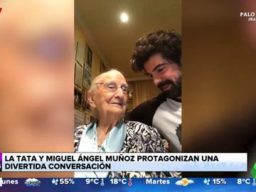 La divertida conversación entre Miguel Ángel Muñoz y su abuela sobre '50 sombras de Grey'