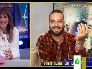 """La divertida anécdota de Maluma con Kim Kardashian: """"Estaba con la cara super tiesa, no se qué se había hecho"""""""