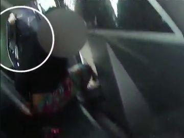 Brutal detención de una niña de nueve años en EEUU