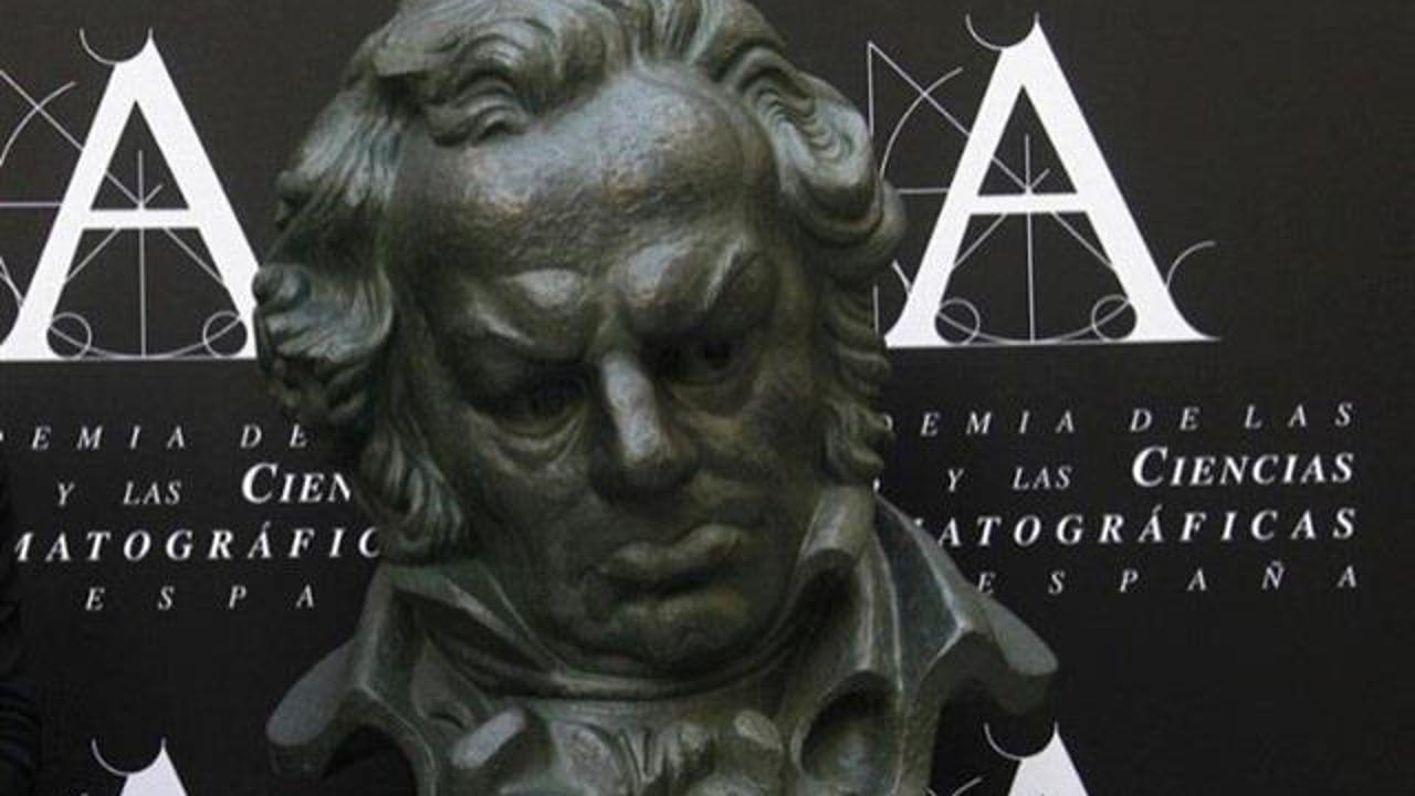 Estatuilla Premios Goya