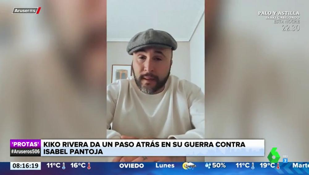 """Kiko Rivera se aparta de la esfera pública para """"luchar judicialmente"""" contra Isabel Pantoja"""
