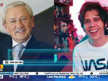 """Fernando Ónega, a El Rubius tras su marcha a Andorra: """"Un catedrático gana el 5% de lo que facturas tú"""""""