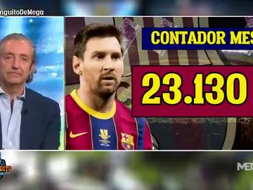 ¿Cuánto ganó Messi durante la emisión de 'El Chiringuito?