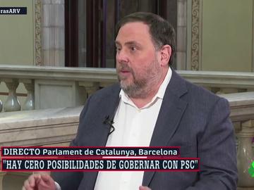 Oriol Junqueras, en 'ARV'