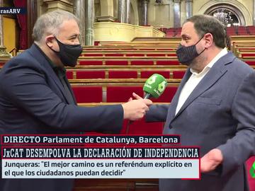 Ferreras entrevista a Oriol Junqueras