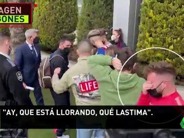 Lo que sea para ver a su ídolo: Paga al hotel para hacerse una foto con Messi