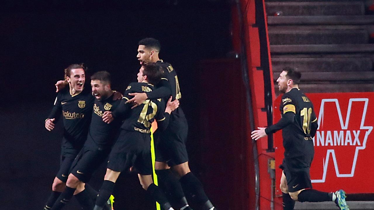 Victoria sufrida del FC Barcelona ante el Granada